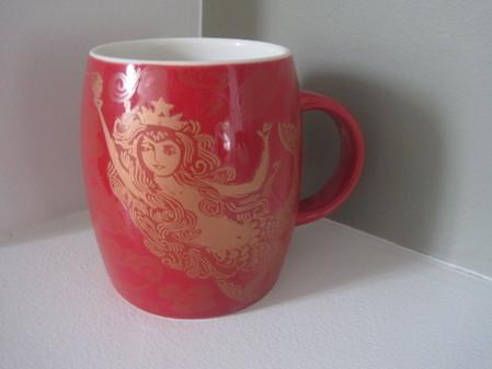 Starbucks City Mug 2011 Red Anniversary Mug