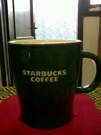Starbucks City Mug Starbucks Coffee Mug Colours Series ( Green)