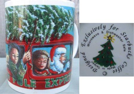 Starbucks City Mug North Pole Express