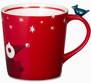 Starbucks City Mug 2012 Christmas Mug # 8 - Carolers