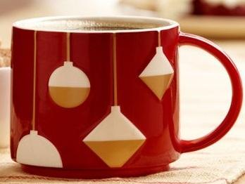 Starbucks City Mug Christmas 2012 Stacking Mug Ornament