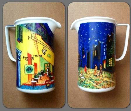 Starbucks City Mug Van Gogh\'s Cafe Terrace at Night Pitcher