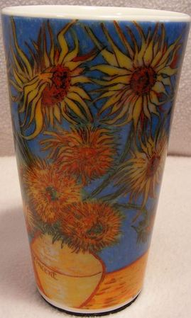Starbucks City Mug Van Gogh\'s Sunflower Travel mug