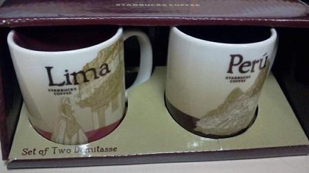Starbucks City Mug Peru Global Icon Demitasse