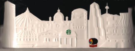 Starbucks City Mug Seoul Relief Mug