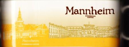 Starbucks City Mug Mannheim - University Of Mannheim