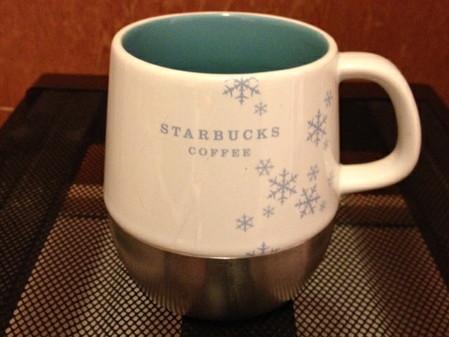 Starbucks City Mug 2007 Christmas Snowflake Desktop Style