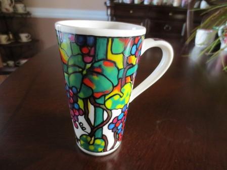 Starbucks City Mug Grapes Ceramic Travel Mug
