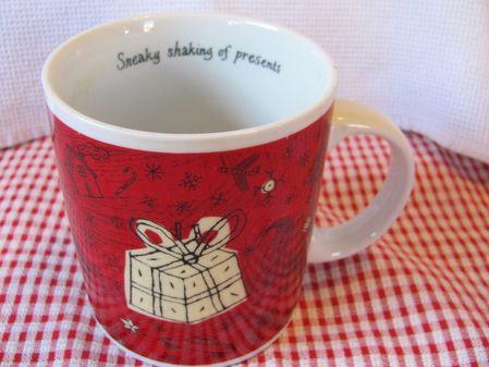 Starbucks City Mug Sneaky Shaking of Presents, Barista 2000, 20 Oz