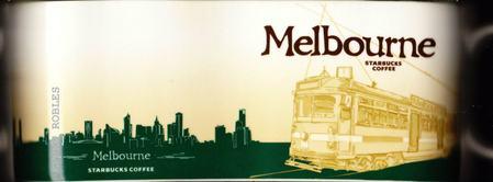 Starbucks City Mug Melbourne - The Tram
