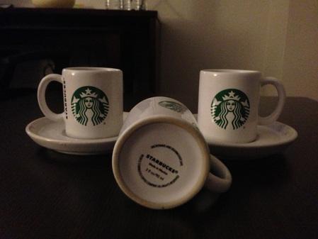Starbucks City Mug Mexican Demitasse Set