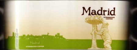 Starbucks City Mug Madrid - Bear and the Madroño Tree