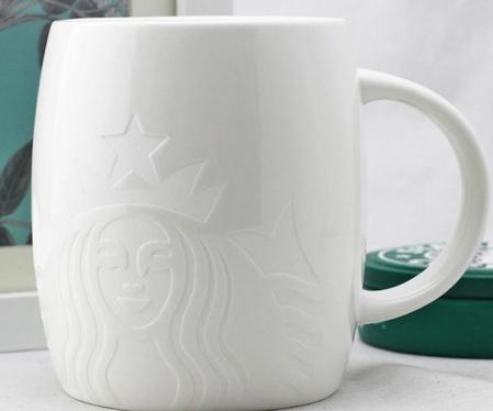 Starbucks City Mug White Siren