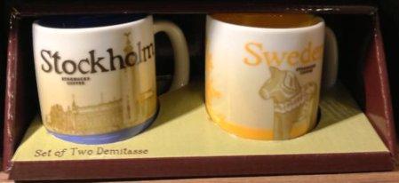 Starbucks City Mug Sweden Demitasse