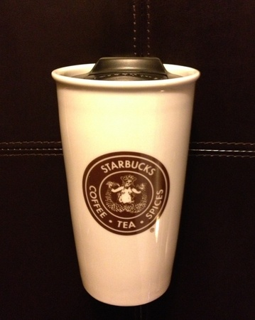Starbucks City Mug Pike Place logo ceramic tumbler