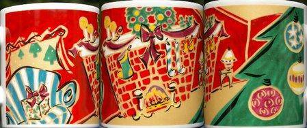 Starbucks City Mug Home for the Holidays-Fireplace