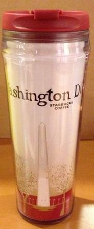 Starbucks City Mug Washington D.C. Icon Tumbler