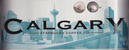 Starbucks City Mug Calgary - No Slogan 18 oz Mug