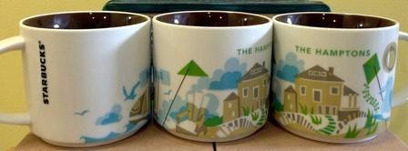 Starbucks City Mug Hamptons YAH