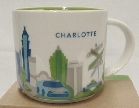 Starbucks City Mug Charlotte YAH