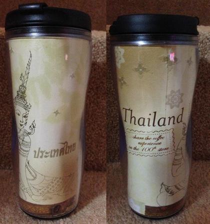 Starbucks City Mug Thailand 100th Store