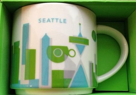 Starbucks City Mug Seattle YAH