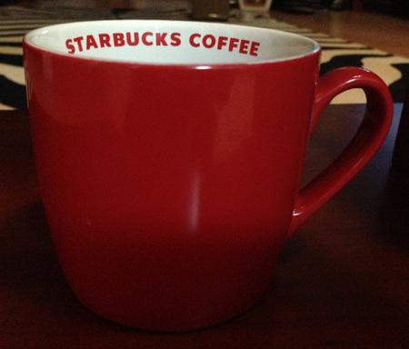 Starbucks City Mug Red Mug