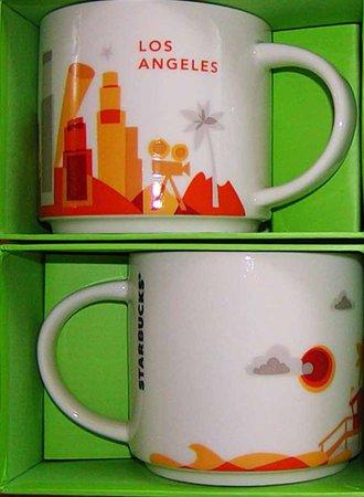 Starbucks City Mug Los Angeles YAH