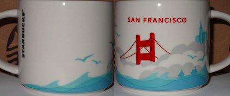 Starbucks City Mug San Francisco YAH