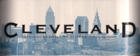 Starbucks City Mug Cleveland - Cleveland Rocks 18 oz Mug