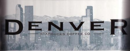 Starbucks City Mug Denver - The Mile High City 18 oz Mug