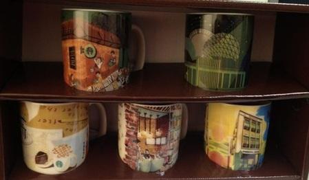 Starbucks City Mug Taiwan Characteristic Shop Demi Set - Banqiao Sinpu Shop