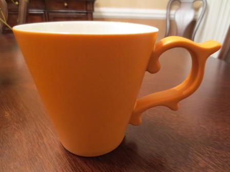 Starbucks City Mug 2013 Tazo Orange