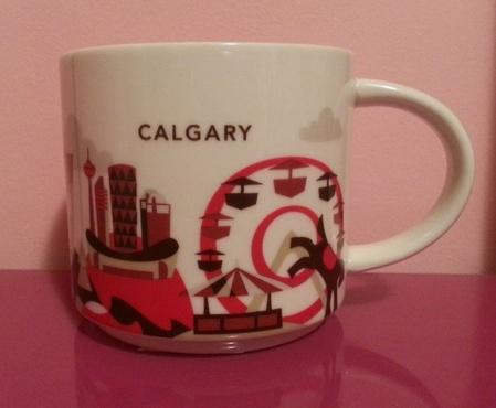 Starbucks City Mug Calgary YAH