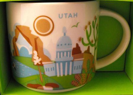 Starbucks City Mug Utah YAH