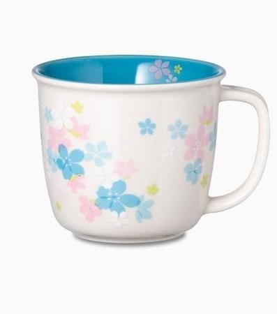 Starbucks City Mug 2013 Cherry blossom Blue 14 oz mug