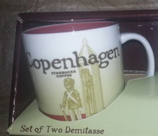 Starbucks City Mug Copenhagen demi