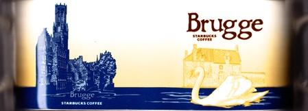 Starbucks City Mug Brugge - Minnewater Park