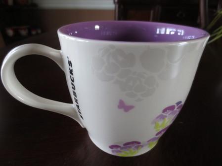 Starbucks City Mug Asian Spring Floral 4