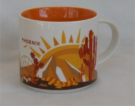 Starbucks City Mug You Are Here in Phoenix