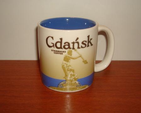 Starbucks City Mug Gdansk Demitasse Mug