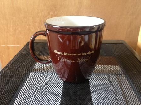 Starbucks City Mug 2010 Ginza Maronnier-dori Seminar Mug