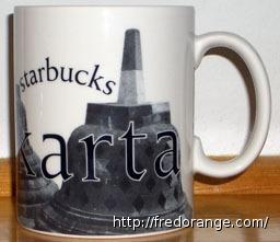 Starbucks City Mug Yogyakarta - Borobudur