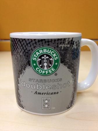 Starbucks City Mug Doubleshot Americano 3oz