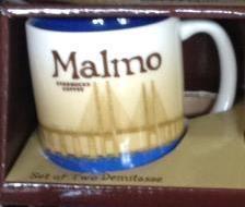 Starbucks City Mug Malmo Demitasse Mug