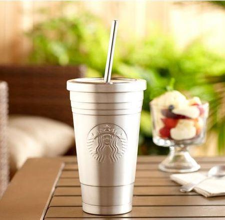 Starbucks City Mug Stainless steel Cold cup 16oz