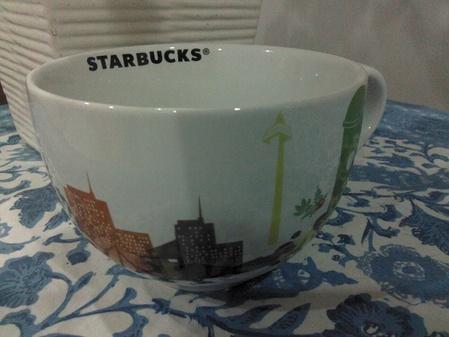 Starbucks City Mug 2013 11th Anniversary in Indonesia mug 2
