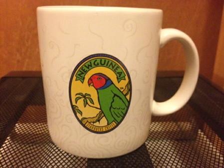 Starbucks City Mug New Guinea Parrot w/ Steam Swirls