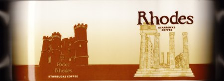Starbucks City Mug Rhodes - Acropolis of Rhodes