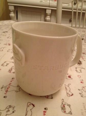 Starbucks City Mug Chinese tea mug in store use